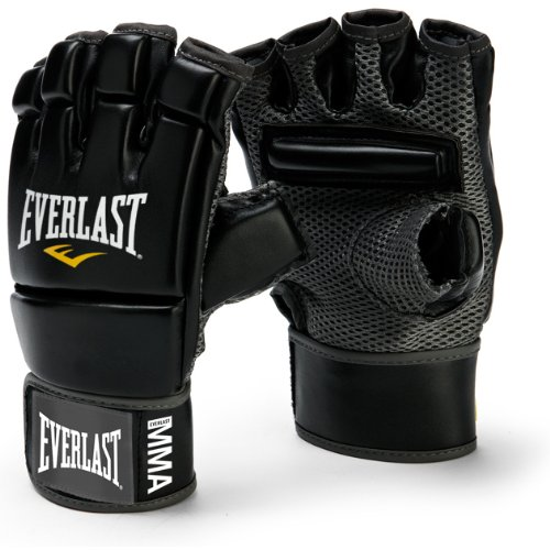 Everlast Evercool Mma Kickboxing Gloves-black-bag Boxing Fitness Training Heavy by Everlast