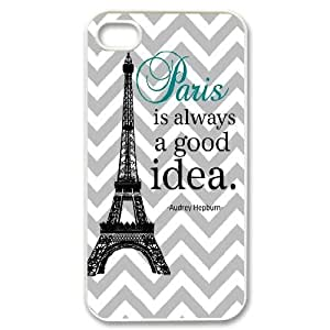 Personalized New Print Case for iPhone 5c, Audrey Hepburn Quotes Phone Case - HL- 5c39171