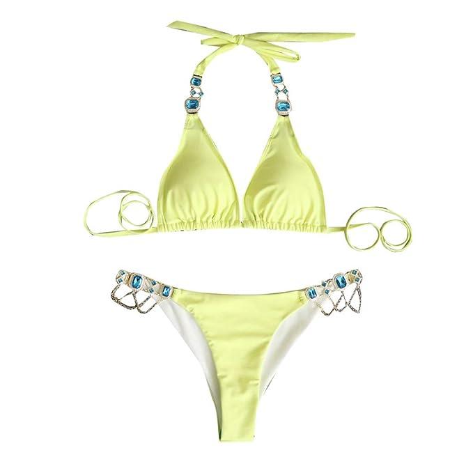 QXLhxuIo Bikini para Mujer, Traje de Baño Tankini para Mujer ...