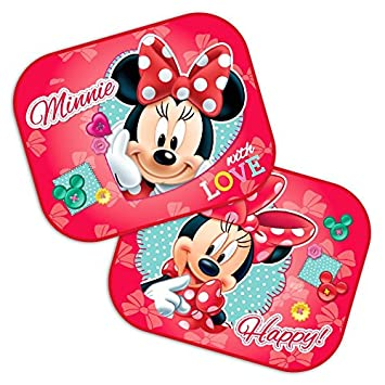 Amazon.com: 2 x Coche Sombrillas Minnie Mouse de Disney 44 x ...