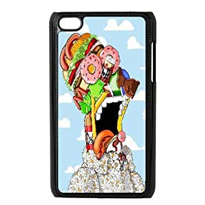 IPhone 6 Case Homer J. Simpson With Foods For Teen Girls Protective, Case For Iphone 6 Girls For Teen Girls Protective [Black]