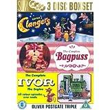 Clangers / Bagpuss / Ivor The Engine [NON-U.S.A. FORMAT: PAL Region 2 U.K. Import] (Oliver Postgate Triple)