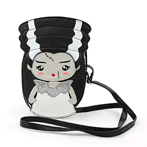 Frankenstein's Bride Crossbody Bag in Vinyl]()
