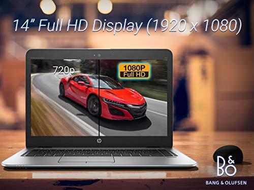 """HP EliteBook 840 G3 Laptop, 14"""" FHD Display, Intel Core i5-6300U Upto 3.0GHz, 32GB RAM, 512GB SSD + 1TB HDD, VGA, DisplayPort, Card Reader, Wi-Fi, Bluetooth, Windows 10 Pro"""
