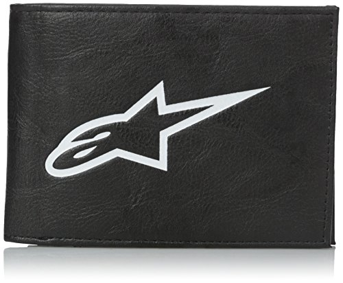 Alpinestars Wallet - ALPINESTARS Men's Equip Bifold Wallet, Black, One Size