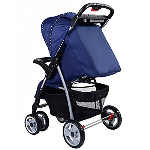 Foldable Baby Kids Travel Stroller Newborn Infant Buggy Pushchair Child Blue by Unknown (Image #2)
