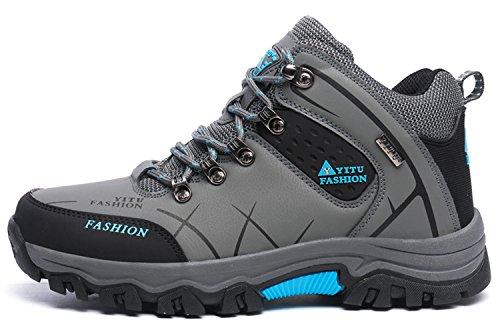 sportive le scarpe trekking da pelle Scarpe Tenere LILY999 1 Uomo grigio caldo in Fuori Stivale FSfqnw