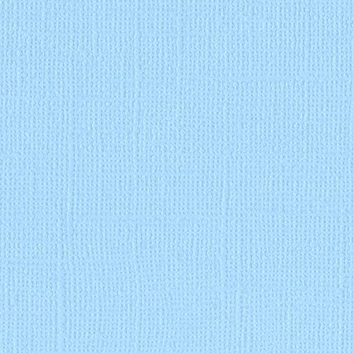 Bazzill SEA Water 12x12 Textured Cardstock | 80 lb Sea & Sky Blue Scrapbook Paper | Premium Card Making and Paper Crafting Supplies | 25 Sheets per Pack ()