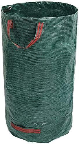 NJYT Bolsa Jardín Jardín PP Bolsa de Basura de la Hoja Puede ser reutilizada Patio de la Hoja Bolsa de Medio Ambiente Bolsa 120L for el césped y desechos de jardinería: Amazon.es: