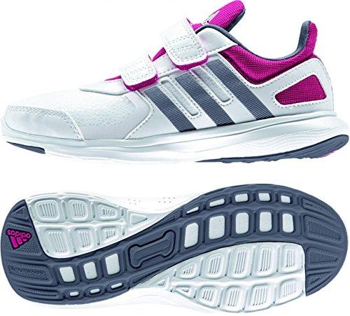 adidas Hyperfast 2.0 CF K - Zapatillas Para Niño Blanco / Gris / Rosa