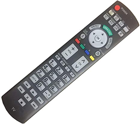 Easy Replacement Remote Control Suitable for Panasonic TC-P42S1 TC-L32G1 Viera LCD LED TV
