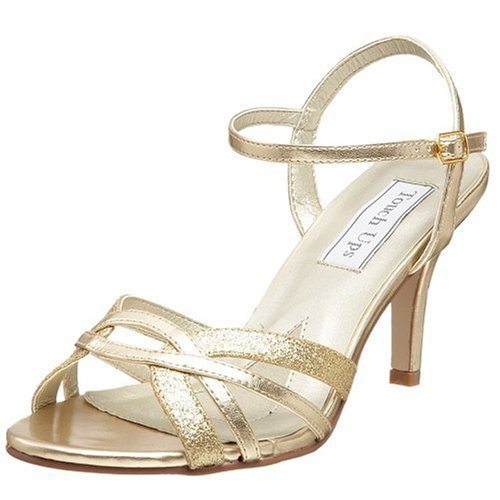 Touch Ups Women's Taryn Sandal,Gold,12 M US