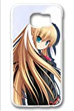 Samsung Galaxy S6 Case,White,Shock Absorbing,Premium Slim PC Material Perfectly Fitting The Case For Samsung Galaxy S6_Cute Little Busters Cartoon 2