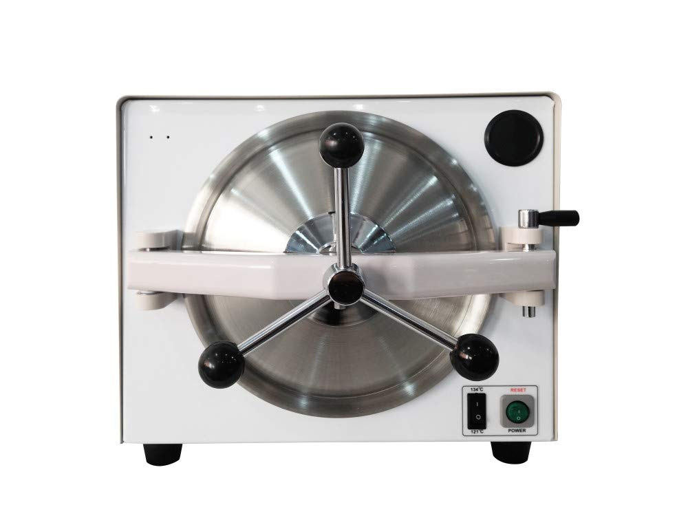 East Updated Style Mini Lab Euipment Autoclave Vacuum Steam Sterilizer 18L 110V