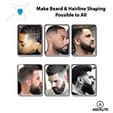 Aberlite Beard Shaper Kit w/Barber Pencil - Premium Shaping Tool