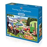Gibsons Touring The Highlands Jigsaw Puzzle (500-Piece)