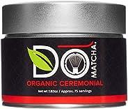 DoMatcha - Organic Ceremonial Green Tea Matcha Powder - Authentic Matcha Tea from Japan (Organic, 80g / 2.82 o