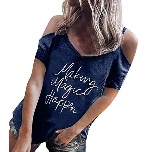 Sommer Frauen Cute Panda gedruckt Kurzarm T-Shirt lässig Bluse Tee Tops XS-3XL