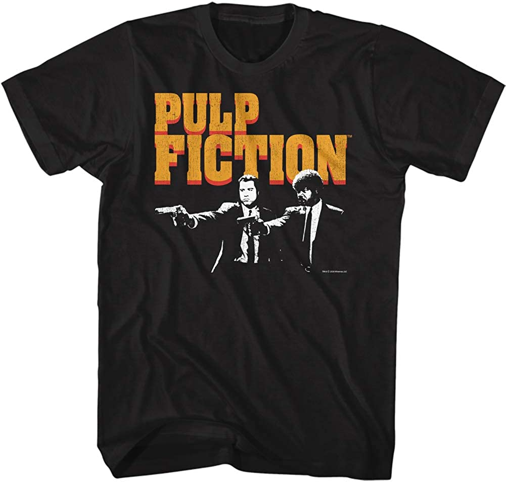 Top 8 Junk Food Pulp Fiction Square Tee