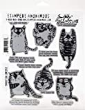 Tim Holtz - Stampers Anon CLING RBBR STAMP SET