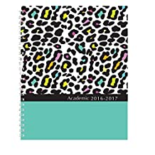 House of Doolittle 2016-2017 Weekly and Monthly Planner, Academic, Leopard, 7-Inchx9-Inch (HOD29594-17)
