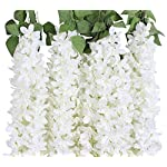 Duovlo-459-Feet-Artificial-Wisteria-Bush-Vine-10-Stems-Silk-Hanging-Flower-for-Wedding-Events-Yard-DecorPack-of-2