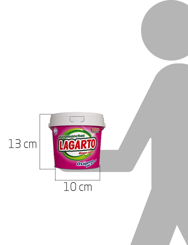 Lagarto Quitamanchas Ropa Color - Paquete de 6 x 600 gr - Total: 3600 gr: Amazon.es: Salud y cuidado personal