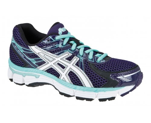 ASICS GT-2000 GS Zapatilla de Running Junior, Púrpura/Negro/Blanco ...