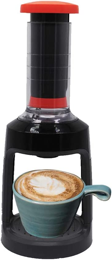 Manual Coffee Brewer for K-Cups, Brew Coffee Anywhere, Single Serve Manual Hand French Press Coffee Maker, Travel Home Kitchen Coffee Maker, Easy Storage (as shown)