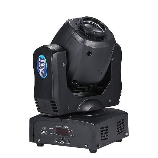 Lepeuxi - Proyector LED de 120 W, luz de 9/15 Canales, 8 diseños y ...