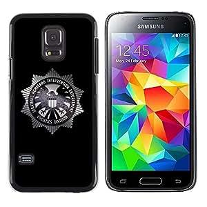 LECELL -- Funda protectora / Cubierta / Piel For Samsung Galaxy S5 Mini, SM-G800, NOT S5 REGULAR! -- Strategic Homeland Intervention Enforcement --