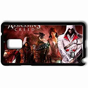 Personalized Samsung Note 4 Cell phone Case/Cover Skin Assassin Killer Ezio Auditor Da Firenze Assassin 39 S Creed Brhood Of Blood Heroes Black by icecream design