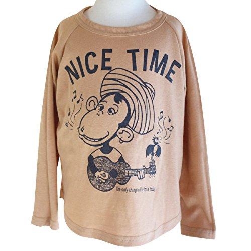 DE NACHOS デナチョス NICE TIME TEE オレンジ L DN-18508