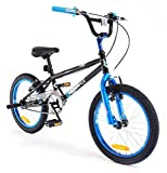 18' Plank Boys KIDS BIKE - Childrens SILVERFOX Bicycle in BLUE Ages: 6 - 9