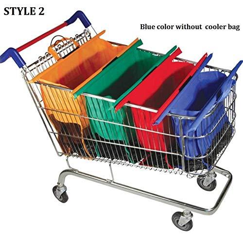 Amazon.com: Carro Carro Supermercado bolsa de la compra ...