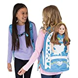 Maplelea Girl-Size Backpack, Doll Carrier and Accessory Storage for an 18 Inch Doll
