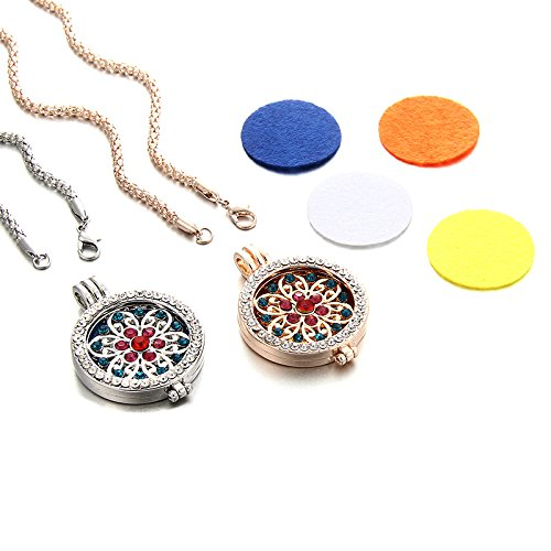 Sunflower Necklace Aromatherapy - and +