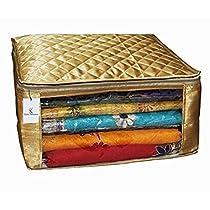 Kuber Industries Satin Fabric Saree Cover