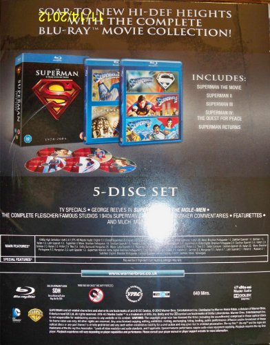 The Superman 5-Film Collection (1978-2006)