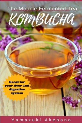 kombucha: The Miracle Fermented Tea (Kombucha For Beginners) 1 This Simple Kombucha books is a nice short-read for learning about kombucha for beginners, a little about kombucha brewing etc. It is meant as a stepping stone into the exciting field of fermented tea and fermented drinks. So If You already know a bit about the subject - I advice you find more elaborate kombucha books. Otherwise, This is perfect for you. What Is Kombucha? Kombucha is a fermented drink of black coffee and sugars (from different sources which includes cane sugar, fruit or honey) that's put to use as an effective food. It includes a colony of microorganisms and yeast which are liable for initiating the fermentation method once coupled with sugar. After becoming fermented, kombucha evolves into carbonated and consists of vinegar, b-vitamins , enzymes , probiotics as well as a high concentration of acidity Kombucha Brewing - Health Benefits: When I first read about the various health benefits of Kombucha Tea, this probiotic tea that people sIar by - , I was skeptical. How could one beverage do so many things? But then I realized that it's not so much that the beverage does something to our bodies, like a medicine targeted at curing specific symptoms. It's more that this beverage promotes health. It gives your body what it needs to heal itself by 1)aiding your liver in removing harmful substances, 2)promoting balance in your digestive system, and 3)being rich in health-promoting vitamins, enzymes, and acids. Why Should You Buy This Book? You CAN Benefit from letting the kombucha enter your life. The general consensus seems to be that with regular, daily consumption, you'll notice improvement in immune system functioning and energy levels within about a Iek, the healing of more minor ailments within a month or so, and the healing of more radical illnesses within a year or so.