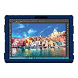 Trident Dual-Layer Protective Case for Microsoft Surface Pro 4 (Cyclops Edition, Navy Blue)