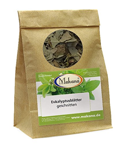 Makana Eukalyptusblätter, geschnitten, 500 g Tüte (1 x 0,5 kg) Makana Eukalyptusblätter 500 g Tüte (1 x 0 705 Ergänzungsfutter