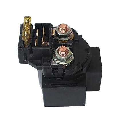 amazon com starter relay solenoid male plug fuse for 50cc 250cc atv 2000 f150 fuse box diagram starter relay solenoid male plug fuse for 50cc 250cc atv dirt bike go kart gas