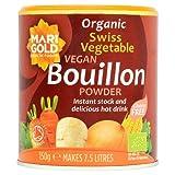 Marigold Swiss Vegetable Vegan Bouillon Powder Organic (150g) - Pack of 6