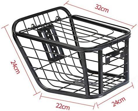 Cesta de Bicicleta Universal Metal Bicycle Front Basket Rack de ...