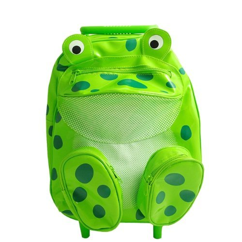 (Sassafras Pull-Along Frog Bag)