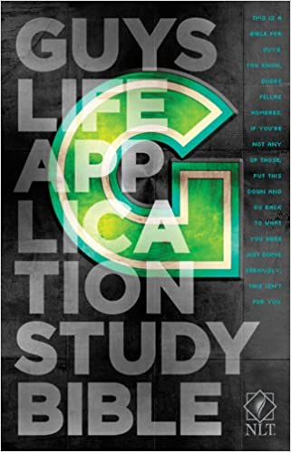 NLT Guys Life Application Study Bible (Softcover)  Tyndale ... 93c3a535e901b