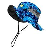 KastKing Sol Armis UPF 50 Boonie Hat - Sun Hat for Men, Sun Protection Hat, Fishing Hat, Hiking Hat, Outdoor Hat for Paddling, Kayaking,Shoreline