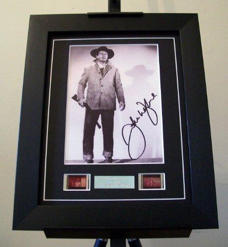 artcandi John Wayne Signed + John Wayne Film
