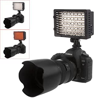 NEEWER® 160 LED CN-160 Dimmable Ultra High Power Panel Digital Camera / Camcorder Video Light, LED Light for Canon, Nikon, Pentax, Panasonic,SONY, Samsung and Olympus Digital SLR Cameras (B004TJ6JH6) | Amazon price tracker / tracking, Amazon price history charts, Amazon price watches, Amazon price drop alerts